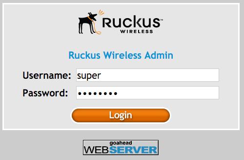 Configuração do WSpot em equipamentos Ruckus (modo standalone)