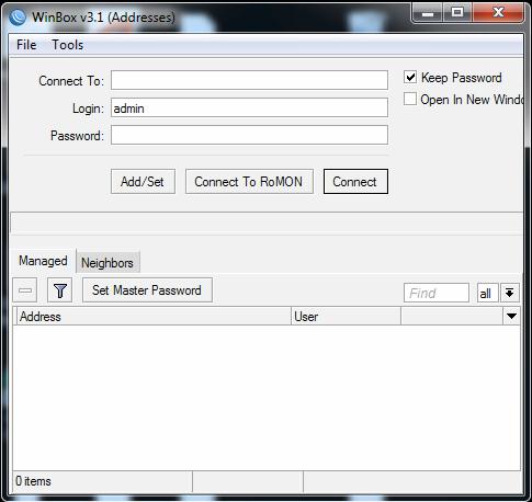 Configuração Mikrotik via Script