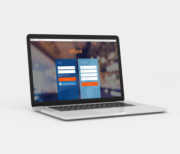 WSpot hotspot personalizado
