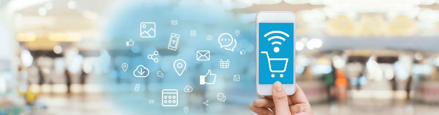 Ofereça hotspots de Wi-Fi para clientes e venda mais