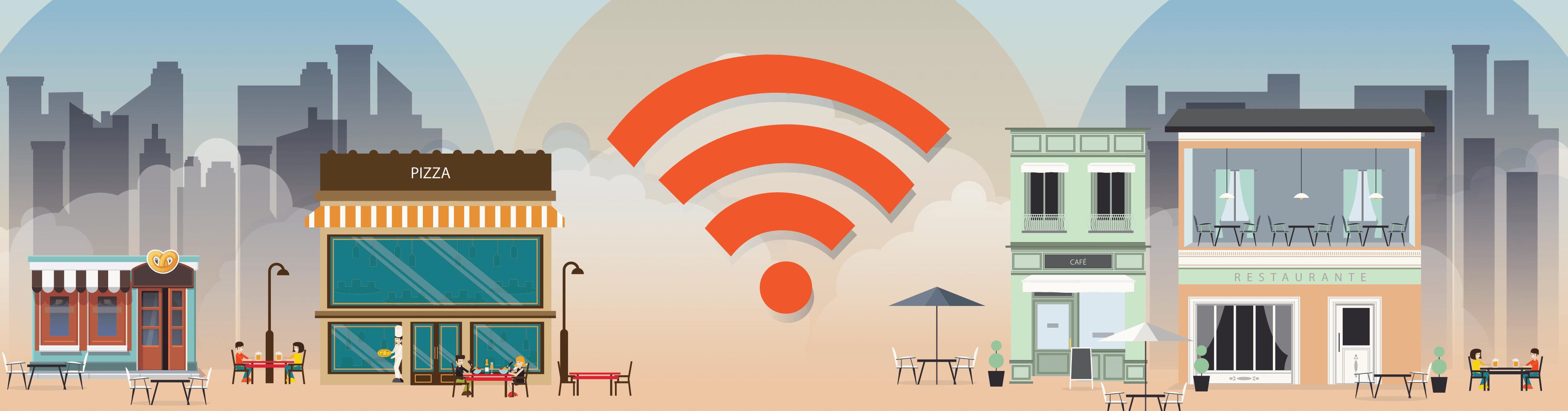 As vantagens de oferecer Wi-Fi para restaurantes e bares
