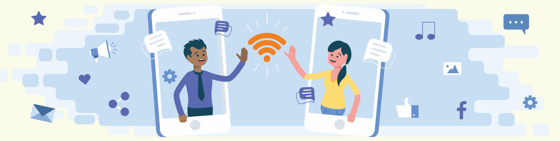 Como um hotspot pode ajudar seu negócio a se aproximar dos clientes